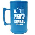 Canecas de acrilico personalizadas 300 ml Ismael