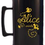 Canecas de acrilico personalizadas 300 ml Alice