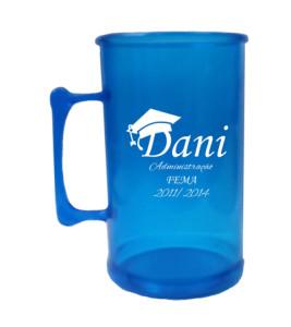 Canecas de acrilico personalizadas 300 ml Dani