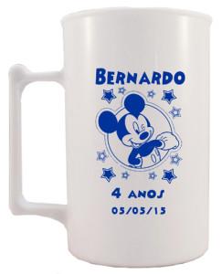 Canecas de acrilico personalizadas 400 ml Bernardo