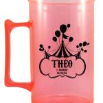 Canecas de acrilico personalizadas 400 ml Theo