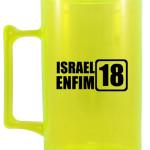Canecas de acrilico personalizadas 400 ml Israel