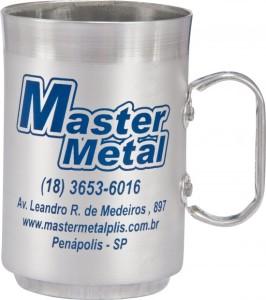 Canecas de aluminio 250 ml ref 27