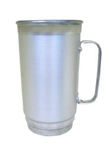 Canecas de aluminio 500 ml ref 19 termica congelante