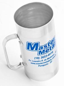 Canecas de aluminio ref 26 450 ml