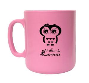 Canecas de café chá da Lorena