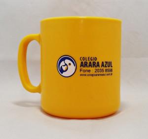 Canecas de café personalizadas Colégio Arara Azul