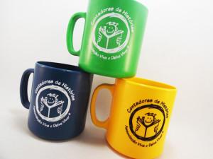 Canecas de café personalizadas Contadores de Histórias