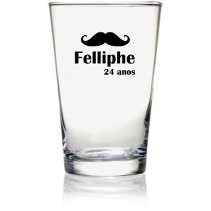 Copos de vidro caldereta clássico 350 ml cod 7701 Felliphe