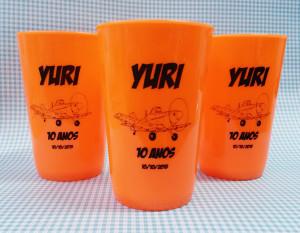 Copos caldereta personalizados Yuri