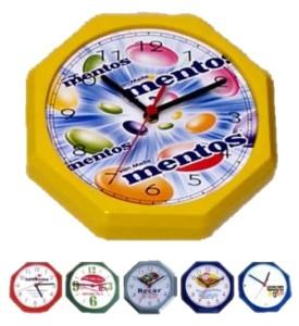 Relógios de parede personalizados oitavado