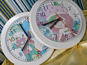 Relógios de parede personalizados redondo branco