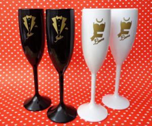 Taças de Acrilico para brindes Personalizadas