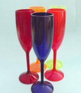 Taças de Acrilico Personalizadas em varias cores