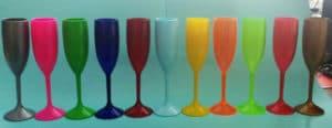 taçpas de acrílico personalizadas várias cores