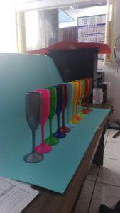 Taças de acrilico personalizadas promocionais