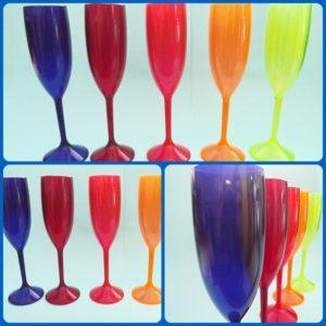 taças de acrílico coloridas sem personalizar